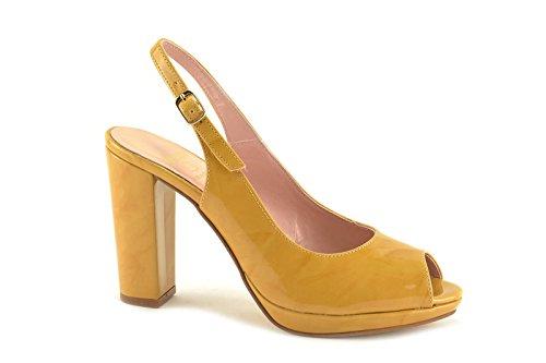 CONBUENPIE  5622,  Damen Schuhe Gelb