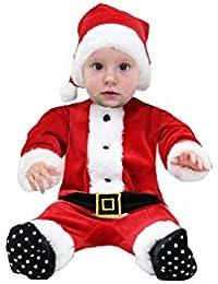 da89c24751 Amazon.it: vestito di babbo natale neonato - Prima infanzia ...