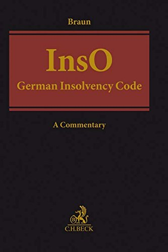 German Insolvency Code: Insolvenzordnung (InsO)
