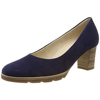 Gabor Shoes Damen Comfort Fashion Pumps, Blau (Bluette 36), 38 EU