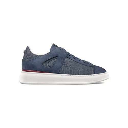 Guardiani Sport sneaker uomo stringata blu navy SJ74 (41)