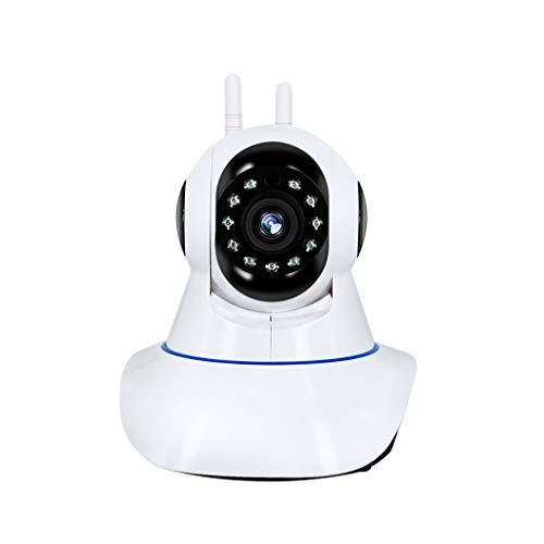 TianranRT Kabellos 720 P Dome 360 ° Netzwerk Heim CCTV IP Kamera IR Nacht Vision WiFi Webcam (B)