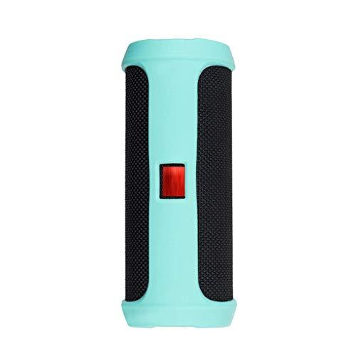 Für JBL Flip 4 Fall Bluetooth Lautsprecher Bergsteigen Silikonhülle Portable Lautsprecher Schutzhülle (Mint Green) -
