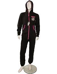Ramones diseño de logotipo de negra y rosa de pijama adultos