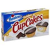 Hostess Golden Cupcakes - 360g (8 Cakes) - Hostess Cup Cakes