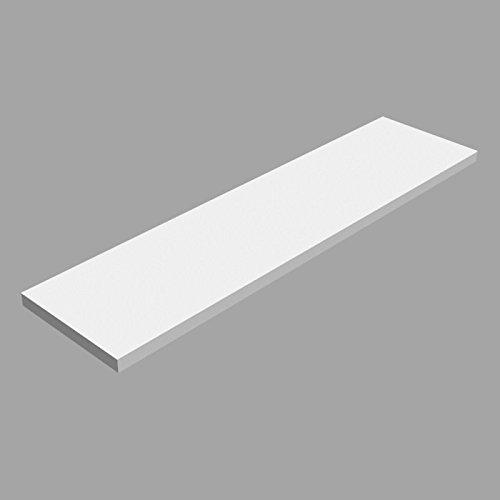 Laminierte Regale (Laminierte Regale, Regalboden, Regal, wandregal LSS Weiss 600x150)