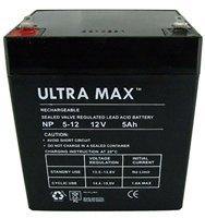 ULTRAMAX NP5-12, 12V 5AH (as 4Ah & 4.5Ah) MICROCAT BAIT BOAT BATTERY from ULTRA MAX