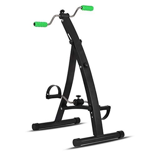 Pedaltrainer, Heimtrainer, verstellbare Passform sitzen Arm Bein Übung Hausierer Indoor Fitness Fahrrad Physiotherapie Maschine für Senioren - Indoor-fahrrad-trainer