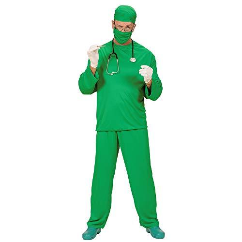 Kostüm Infirmiere - WIDMANN 39103 Erwachsenen Kostüm Chirurg, Grün, L