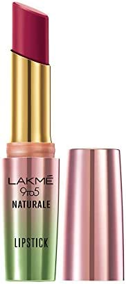 Lakme 9to5 Naturale Matte Lipstick, Rose Valet, 3.6 g