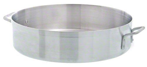 Update International (ABR-28) 28 Qt Aluminum Brazier by Update International 28 Quart Brazier