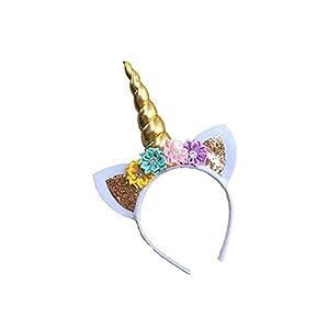 TaoNaisi Oído Unicornio Diadema cumpleaños