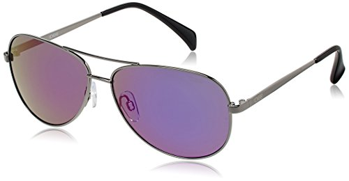 IDEE Aviator Sunglasses (IDS2003C12SG|60|Gun Metal ) image