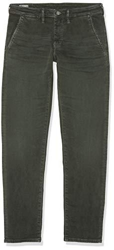 Pepe Jeans Herren James Hose, Grün (Dark Khaki 785), W32/L34 -