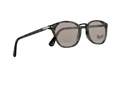 Persol PO3209V Typewriter Evolution Eyeglasses 52-21-145 Tortoise Azure w/Demo Clear Lens 1070 PO 3209V PO 3209-V PO3209-V