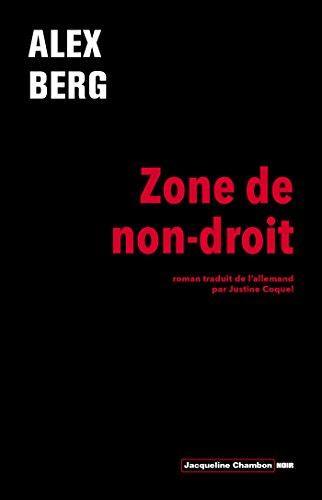 Alex Berg - Zone de non-droit sur Bookys