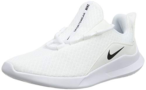 Nike Damen Viale Sneakers Weiß (White/Black 001) 39 EU