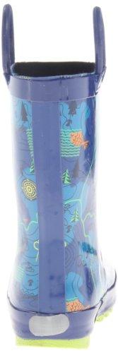 Kamik AHOY Unisex-Kinder Halbschaft Gummistiefel Blau
