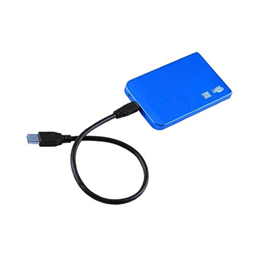 Preisvergleich Produktbild LouiseEvel215 2, 5-Zoll-Aluminiumlegierung Ultradünne USB3.0-Festplattenbox,  die 3 TB Sata to USB3.0-Festplattenbox unterstützt