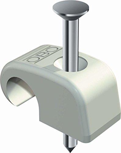 Nagelschelle 7-12 mm, mit 35 mm Nagel (400 Stück Nagelschelle)
