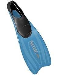 Seac Aletas EASYFIN - Aletas de buceo, color azul, talla 34-35