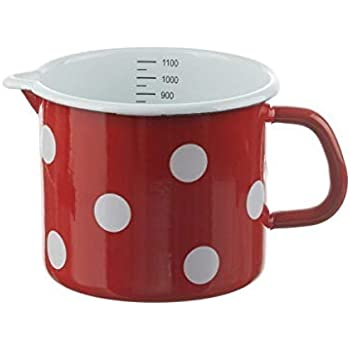 RIESS Topf Schnabeltopf rot 10 12 14 cm Induktion Milchtopf Email online kaufen