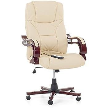 Bürosessel holz  Leder Chefsessel Massagesessel Direktorensessel Bürosessel ...