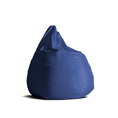 Pouf-poltrona-sacco-media-BAG-L-Jive-tessuto-tecnico-antistrappo-blu-royal-imbottito-Avalon