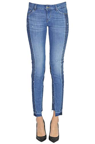 Liu Jo Luxury Fashion Damen MCGLDNM000006000I Blau Jeans | Jahreszeit Outlet