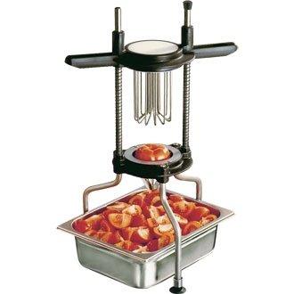 Winware Tomate Apfelschneider (gewellte Klinge zu acht Keile schnell und einfach Verringerung kostspielige Vorbereitung Zeit) -