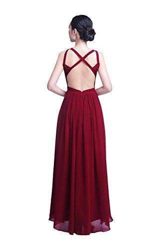YiYaDawn -  Vestito  - stile impero - Donna Rosa