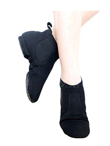 Swallowuk Unisex Erwachsene Kinder Leinwand Jazz Schuhe Stiefel Ballett Schuhe Sport Schuhe (40)