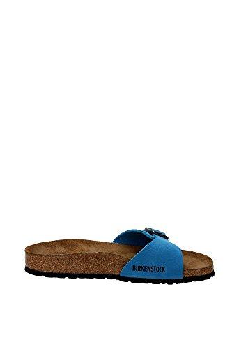 Pianelle Madrid Birkenstock 239923 Smaragdgrun (41-45) bleu