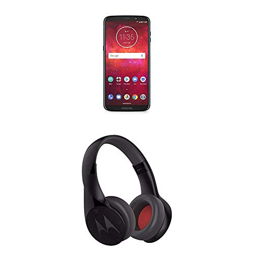Motorola Moto Z3 Play Smartphone, Dual SIM, Dual Camera da 12 MP + Motorola Escape - Auricolare con Bluetooth