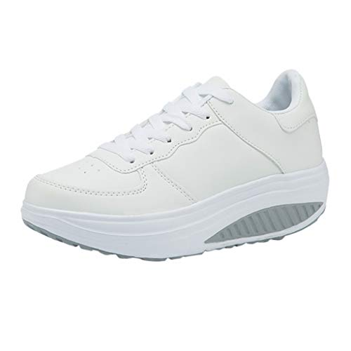 LILICAT_Damen Sportschuhe Sneaker Laufschuhe Profilsohle Freizeitschuhe Schuhe knöchelhohe Geschnürt Atmungsaktives Ultra-Light Low-Top Athletic Sneaker - Athletic Ärmelloses Jersey