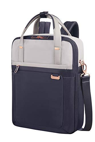 SAMSONITE Uplite - Three-Way Laptop Expandable Rucksack, 40 cm, 18 Liter, Pearl/Blue (Laptop-tasche Sichere)