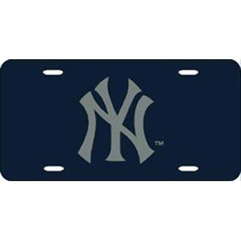 Rico Industries - New York Yankees Laser Cut Blue License
