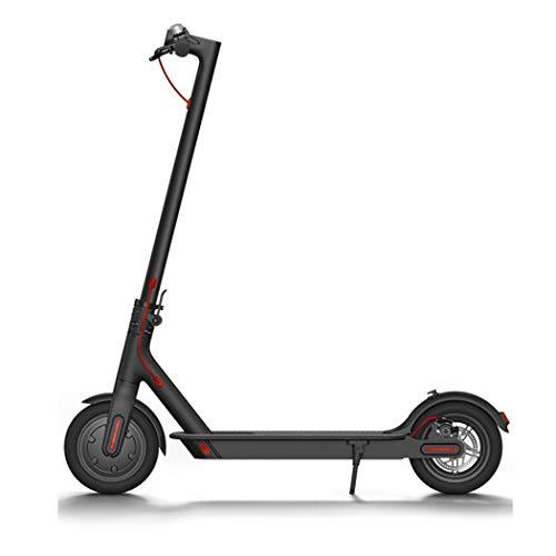 Sikena Elektroroller Klappbarer E-Scooter mit Kräftigem Motor bis zu 25km/h Electric Scooter für Jugendliche Und Erwachsene Kinder Schwarz, Weiß
