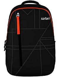 Safari 32 Ltrs Black Casual Backpack (PRISMA19CBBLK)