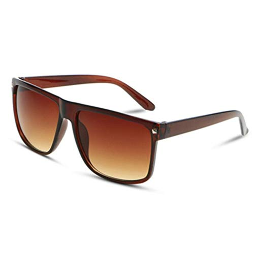 Fliegend Herren Damen Quadratische Retro Sonnenbrille Unisex Wayfarer UV400 Polarisierte Sonnenbrille Mit Nietdekoration Gespiegelte Linse Ultra Leicht Mode