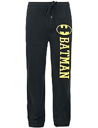 Batman Logo Bas de pyjama noir