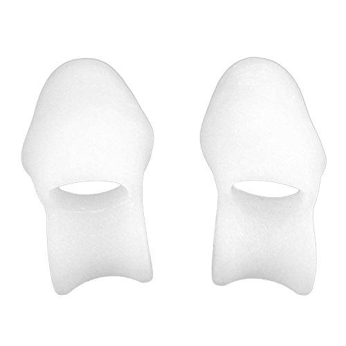 Vococal® Une paire de silicone séparateur d'orteil civière Lisseur Correcteur Alignement