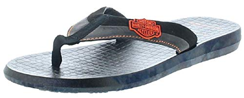 FB Fashion Boots Herren Sandale D93500 Adams Harley Zehentreter Schwarz 42 EU inkl. Schuhdeo Wolverine Harley Davidson