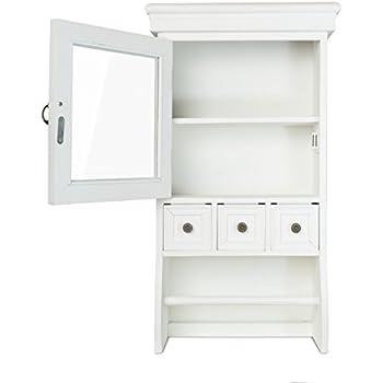 elbmöbel H60 x B34 x T16cm Wandschrank Küchenschrank