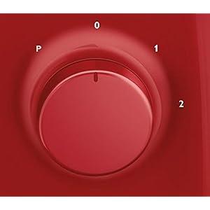 Philips HR2105/50 Frullatore Daily Collection, con lama ProBlend 4, 400 W, Rosso