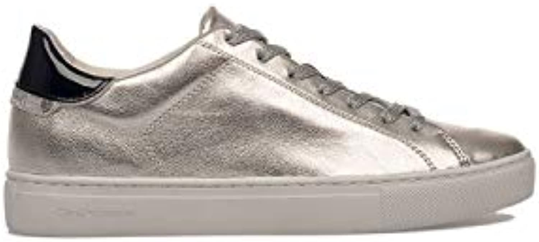 Crime London scarpe da ginnastica Donna 25101PP126 Pelle argentoo   Negozio online di vendita    Gentiluomo/Signora Scarpa