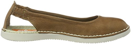 Softinos Damen Tor384sof Ballerinas Braun (Brown)
