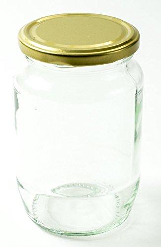 Nutley 's 380ml Jam und Pickle Jar Deckel–Gold (48Stück)