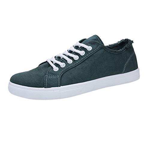 Sunday Herren Canvas Turnschuhe Jungen Freizeitschuhe Sneakers Loafer Flats Walkingschuhe Outdoorschuhe 39-44