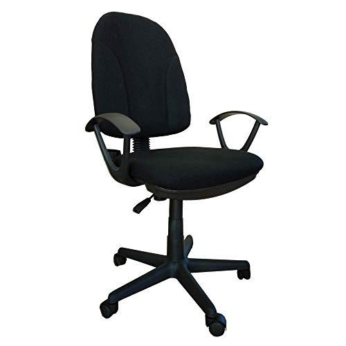 Sedia poltrona ufficio operativa girevole casa studio nera